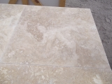 610x610x14 mm Filled/Honed Travertine